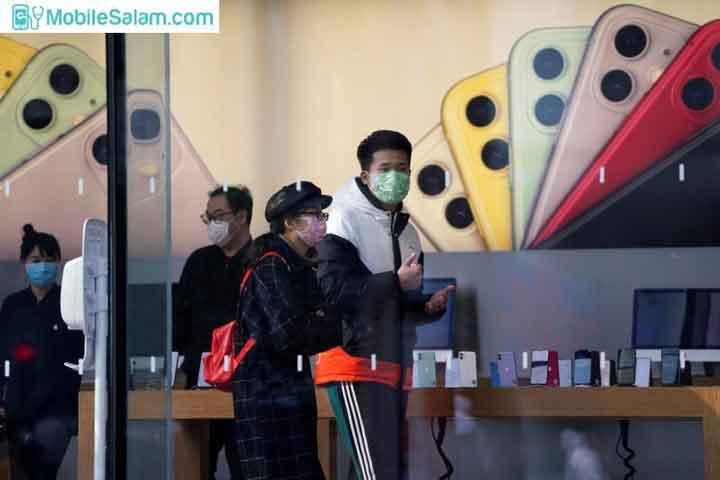 اپل و کرونا ویروس