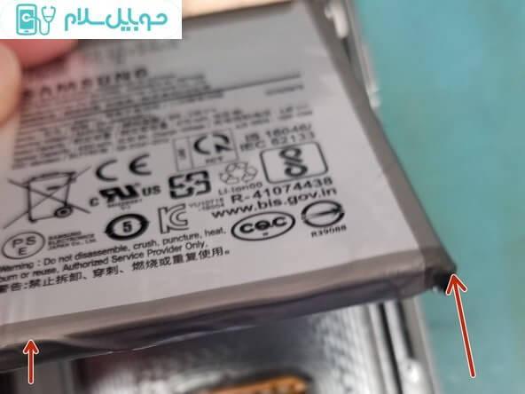آموزش تعویض باتری سامسونگ گلکسی Note10