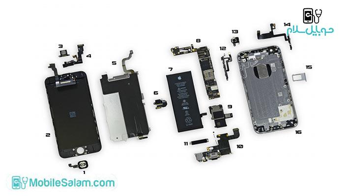 خرید قطعات اورجینال موبایل اپل